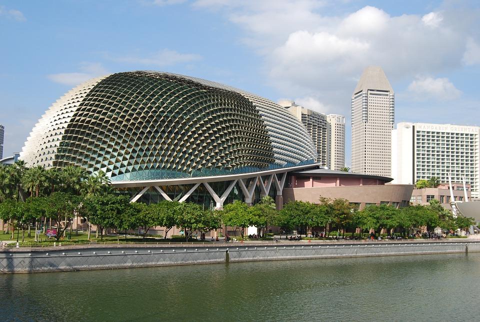 Singapore, City Center, Town, Asia, Cityscape, Downtown