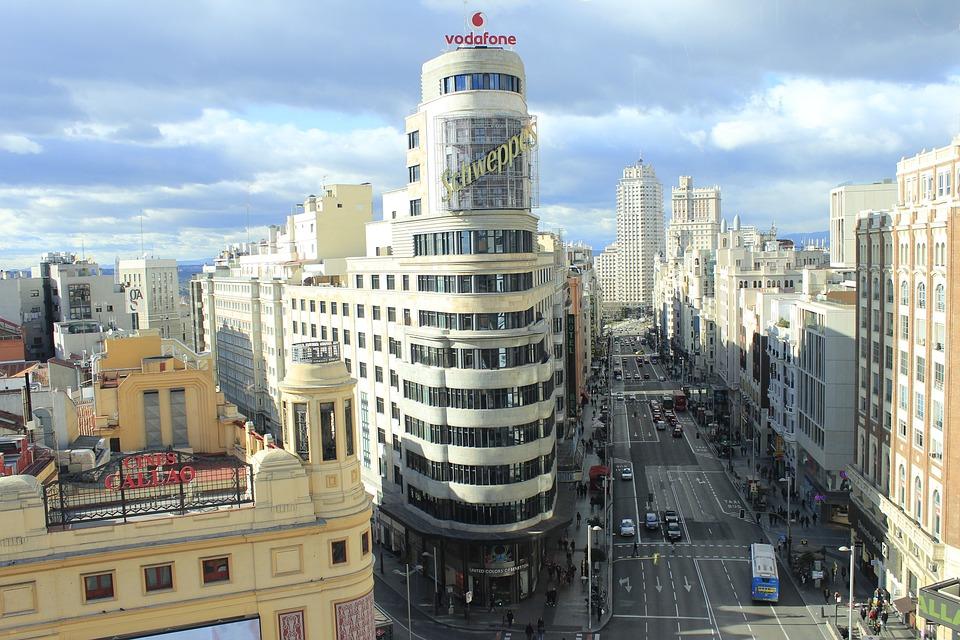 Gran Vía, Madrid, Spain, City Centre, Great Way