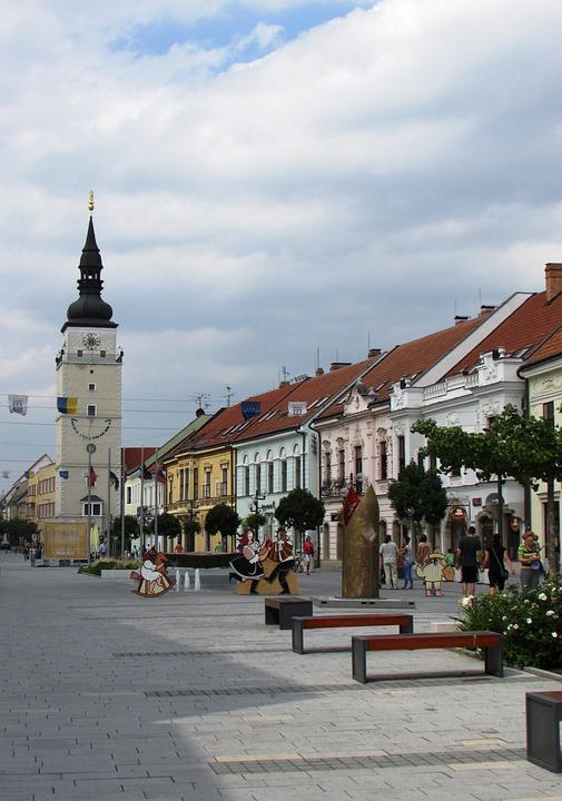 Trnava, Center, Slovakia, Old Town, Centre, City