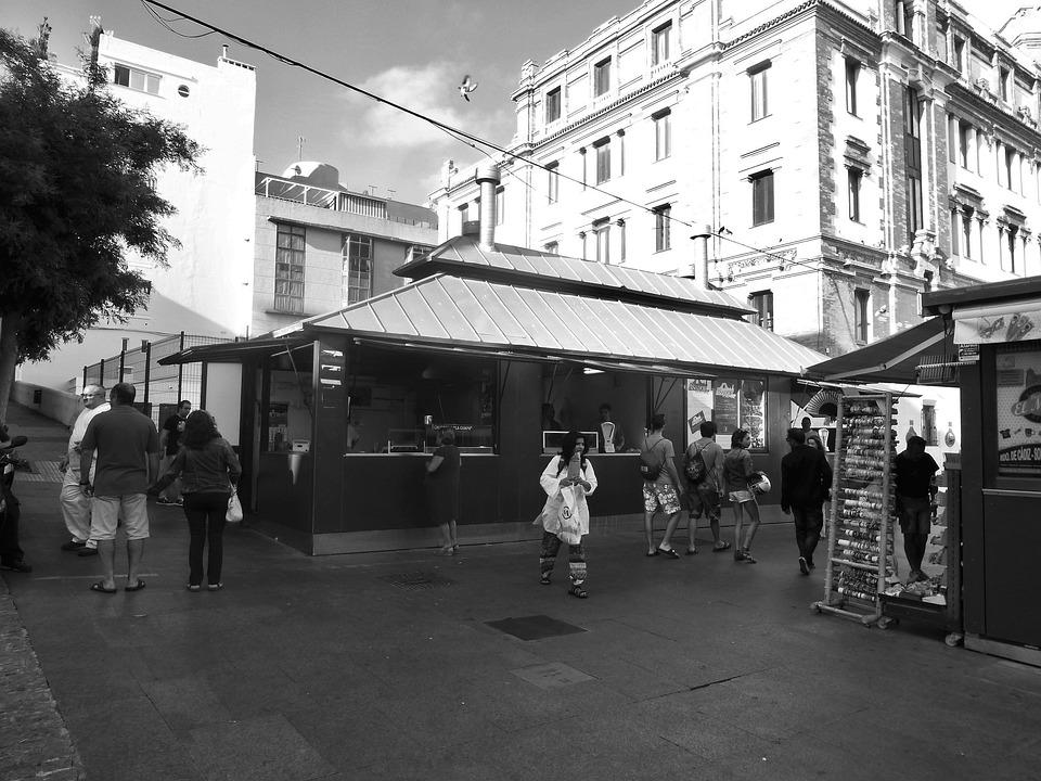 Food, Market, Town, Snack, City Centre, Town Centre