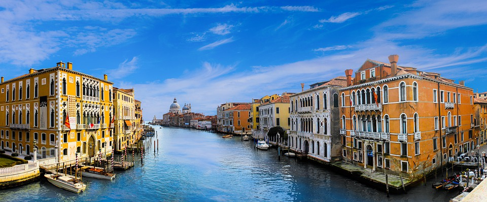 Venice, Architecture, Channel, Water, City, Building