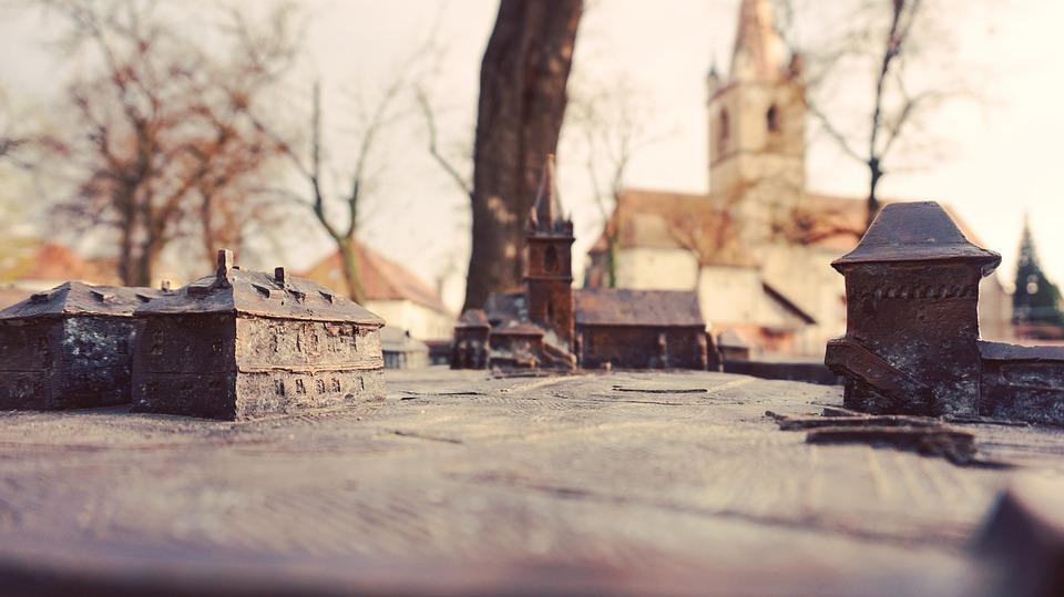 Miniature, Church, Architecture, Building, City, Urban