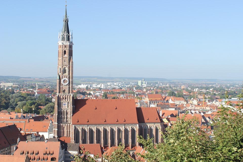 Church, Landshut, City, Bavaria, Historically