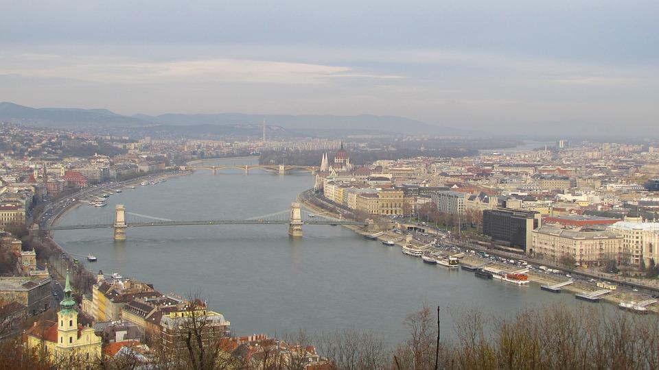 Budapest, Hungary, City, Cities, Sky, Clouds, Urban