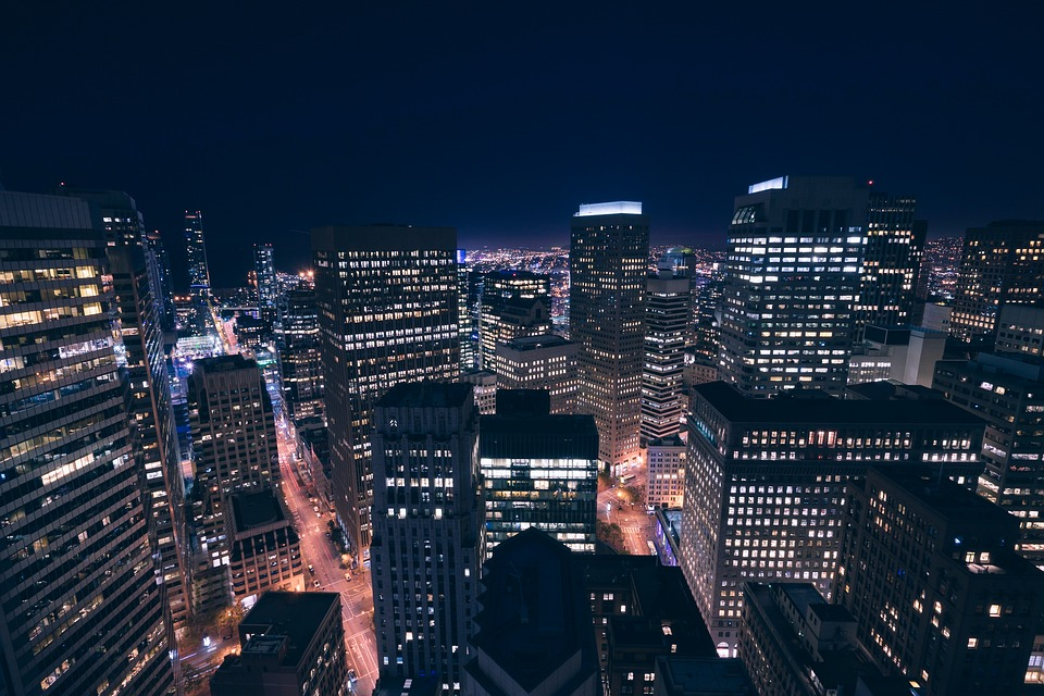 Buildings, City, City Lights, Cityscape, Lights, Night