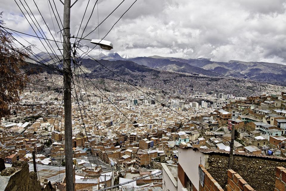 La Paz, Bolivia, South America, City, Town, Cityscape