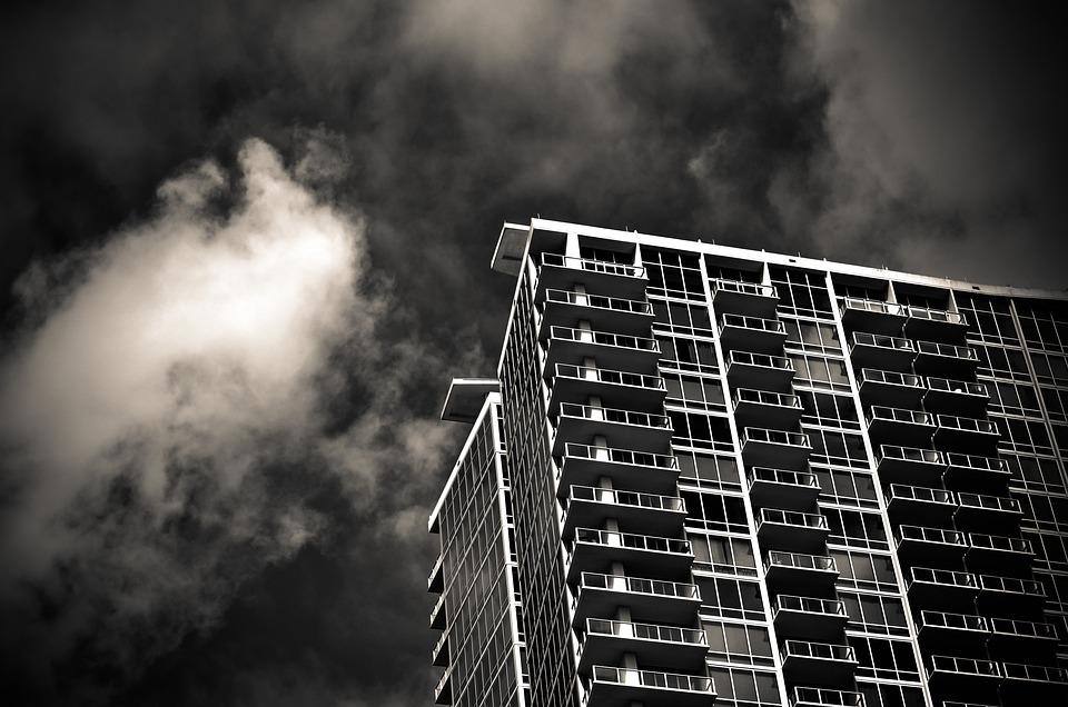 Architecture, Building, Business, City, Clouds