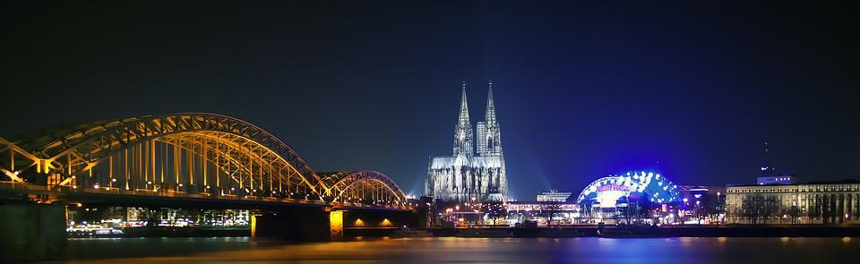 Cologne, Germany, Landmark, City, Building