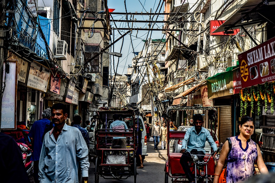 Street, People, City, Shopping, Stock, Urban, Commerce
