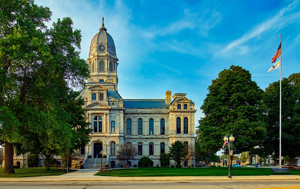 Courthouse, Kosciusko County, Indiana, City, Urban