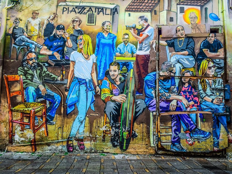 Graffiti, Street, People, Culture, Painting, Wall, City