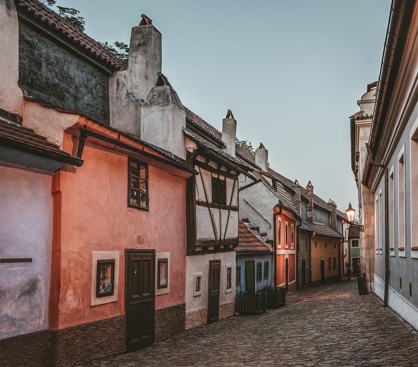 Golden Lane, Prague, Czech Republic, City, Architecture