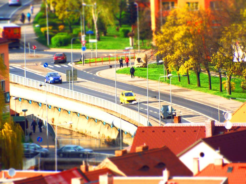 City, Road, Czech