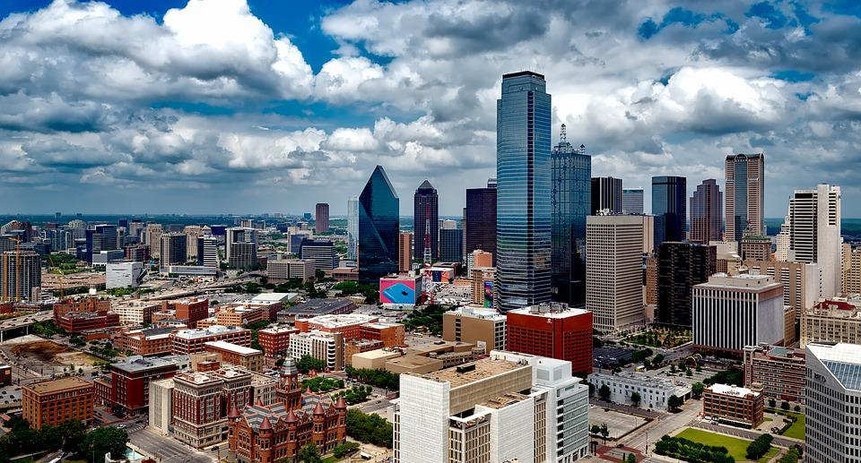 Dallas, Texas, City, Cities, Urban, Skyline, Cityscape