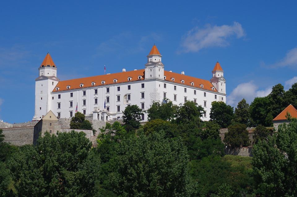 Bratislava, Slovakia, Castle, City, Danube