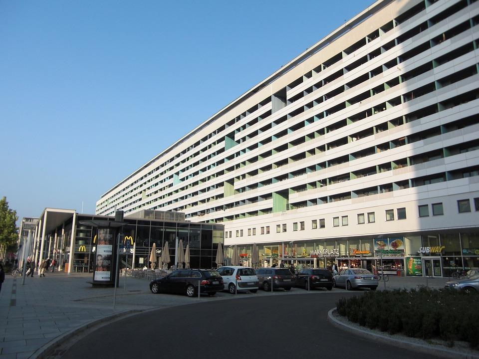 Prefab, Ddr, Dresden, City, Gdr-buildings, Architecture