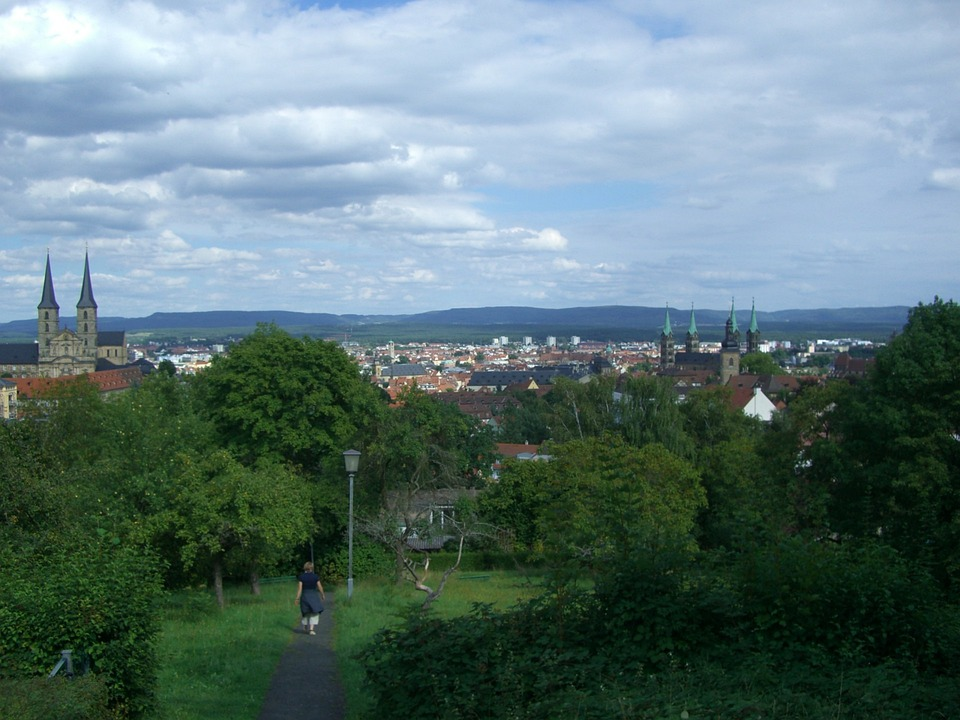 Bamberg, City, Viewpoint, Dom