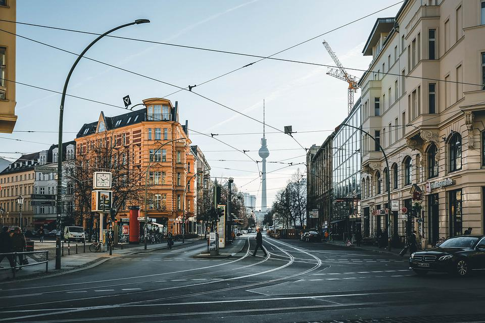 City, Architecture, Building, Berlin, Downtown