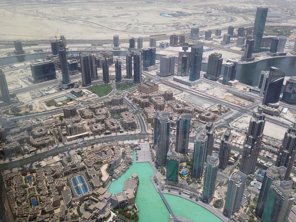 Dubai, Burj Khalifa, Uae, Emirates, City, Downtown