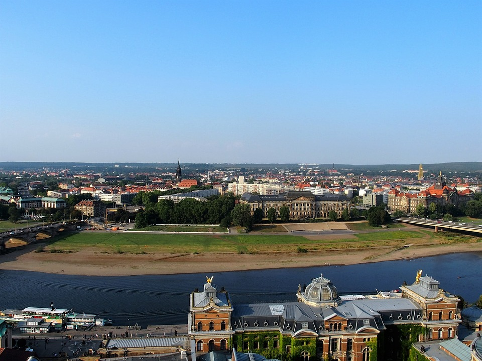 Dresden, Saxony, City, Germany, Elbe, Historically