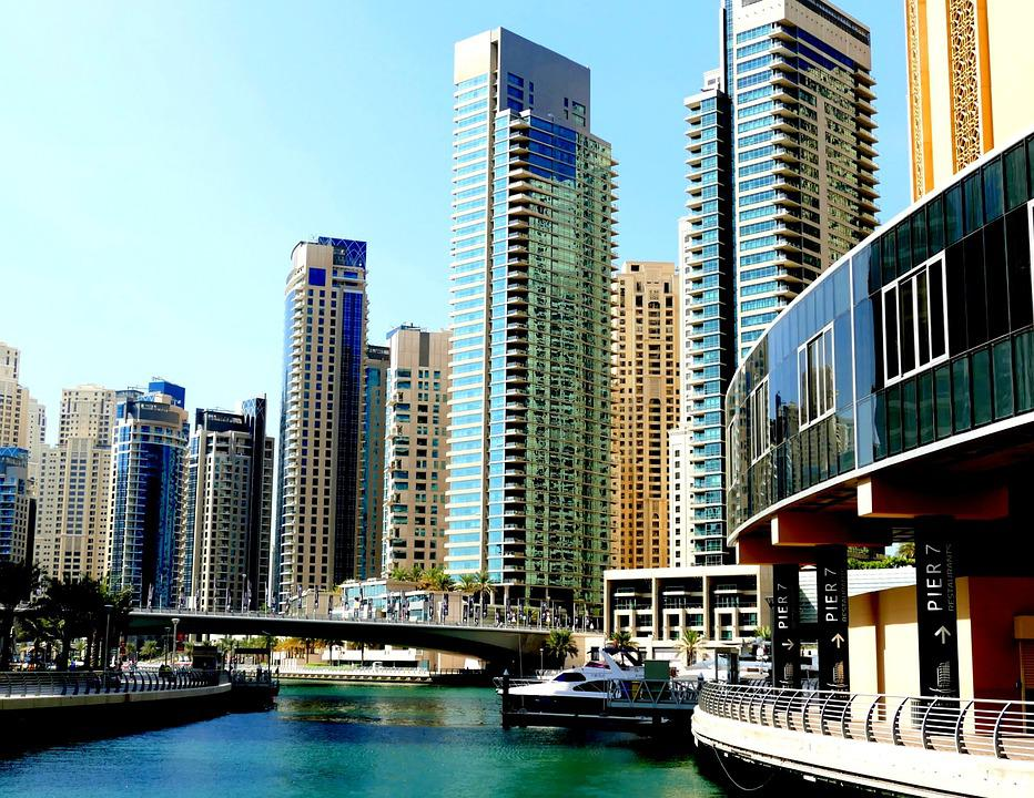 Dubai, Skyscraper, Skyscrapers, U A E, City