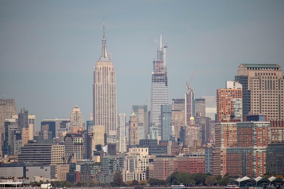 Empire State, Building, City, Empire, State, Manhattan