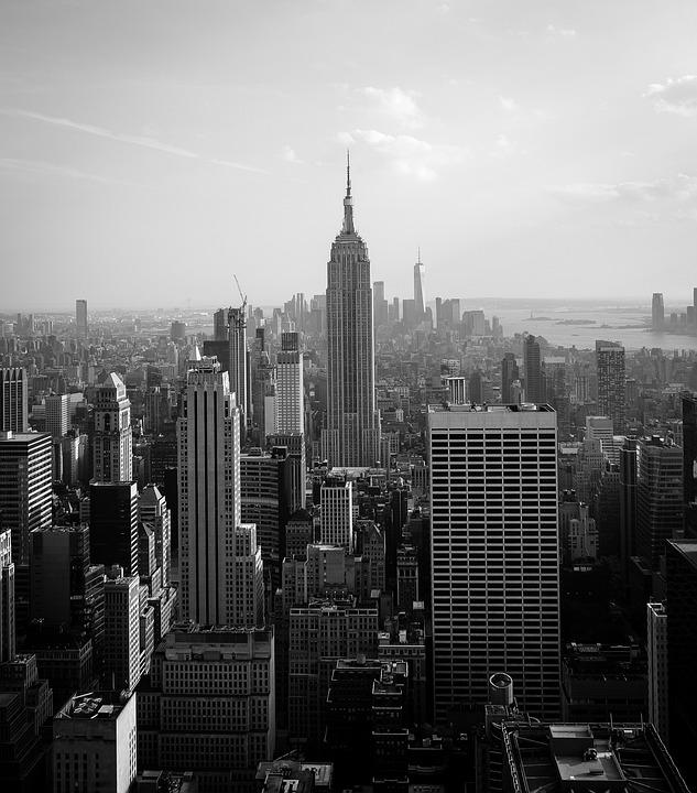 New York, Nyc, Empire State Building, City, America