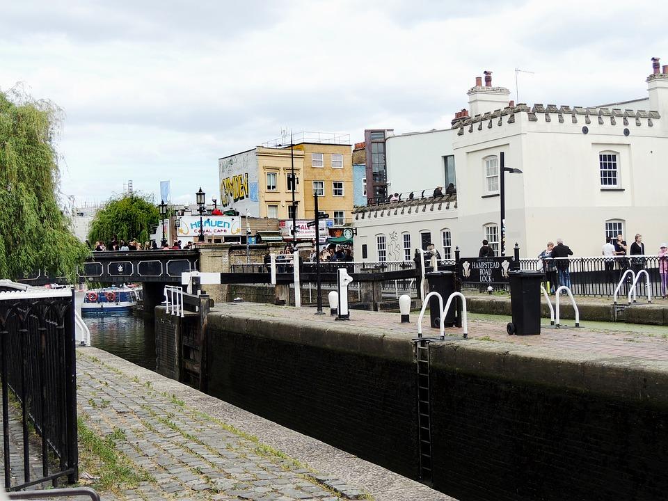 Camden Town, District, London, England, City, Famous