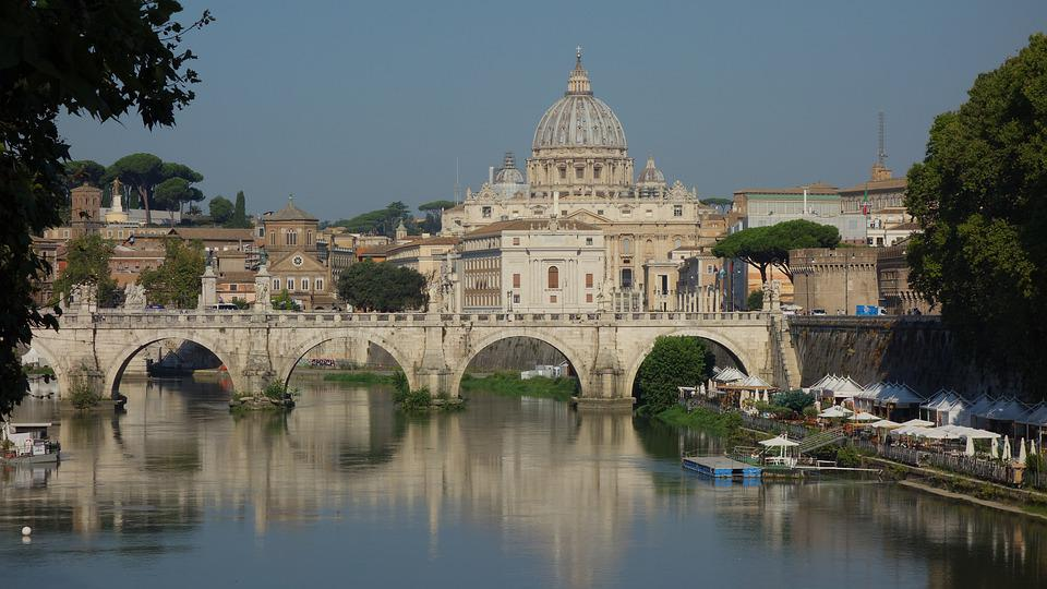Rome, Italy, Architecture, Vatican, City, Europe