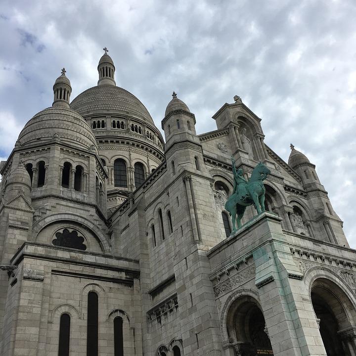 Paris, France, Architecture, City, Facade, Sacred Heart