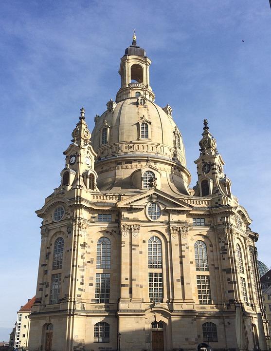Frauenkirche Dresden, City, Architecture, Saxony