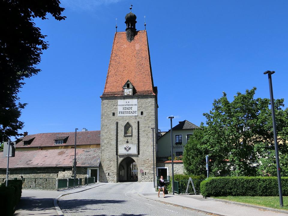 Linzer Tor, Frey City, City Gate, Germany, Historically