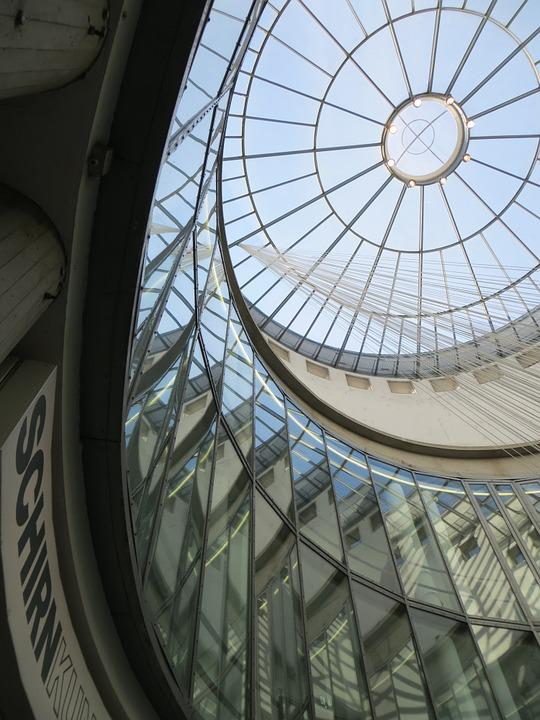 Glass Dome, Frankfurt, Museum, Schirn, City, Art