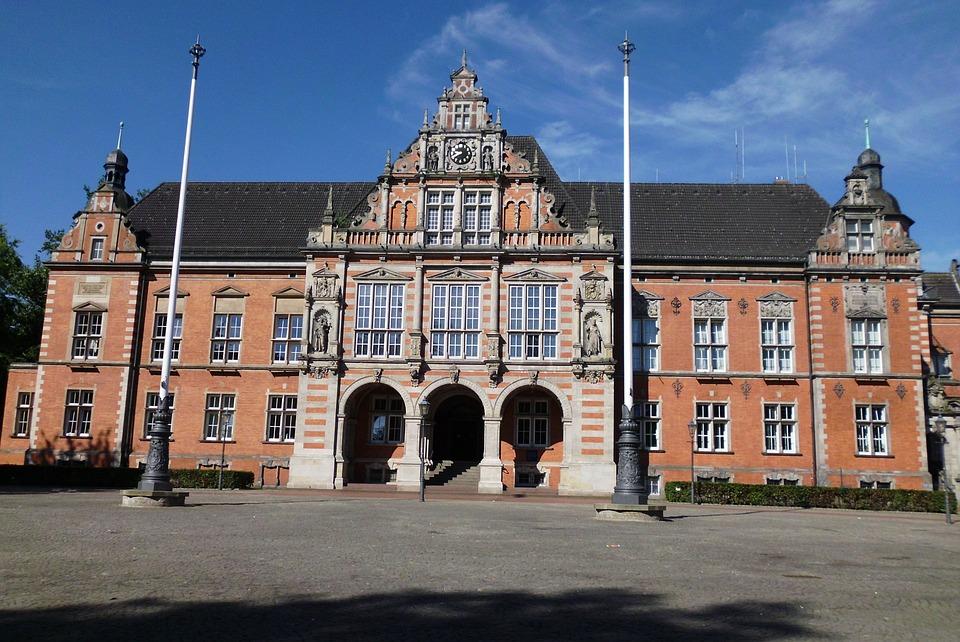 City Hall, Hall, Town, Travel, Urban, Landmark
