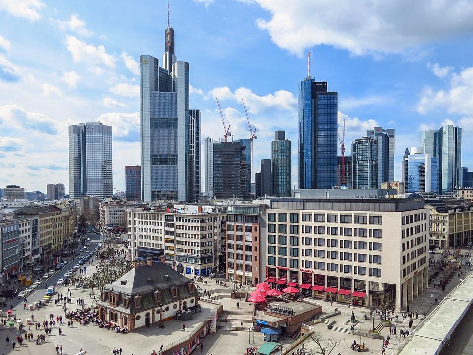 Frankfurt Main, Hauptwache, Skyscraper, City, Skyline