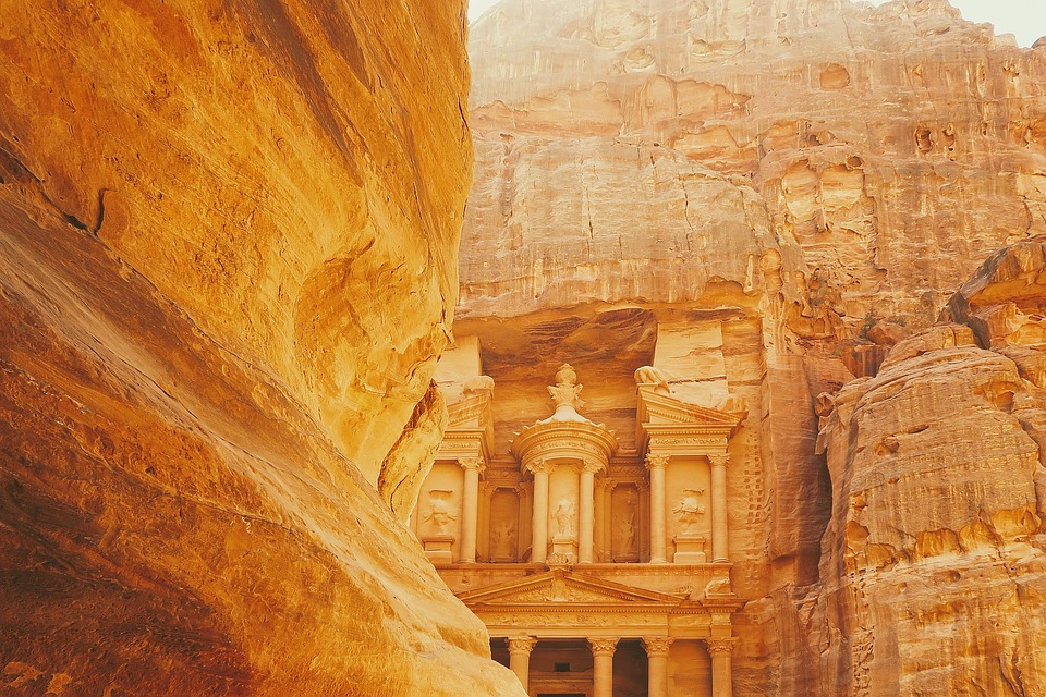 Archaeological, City, Petra, Jordan, History, Landscape