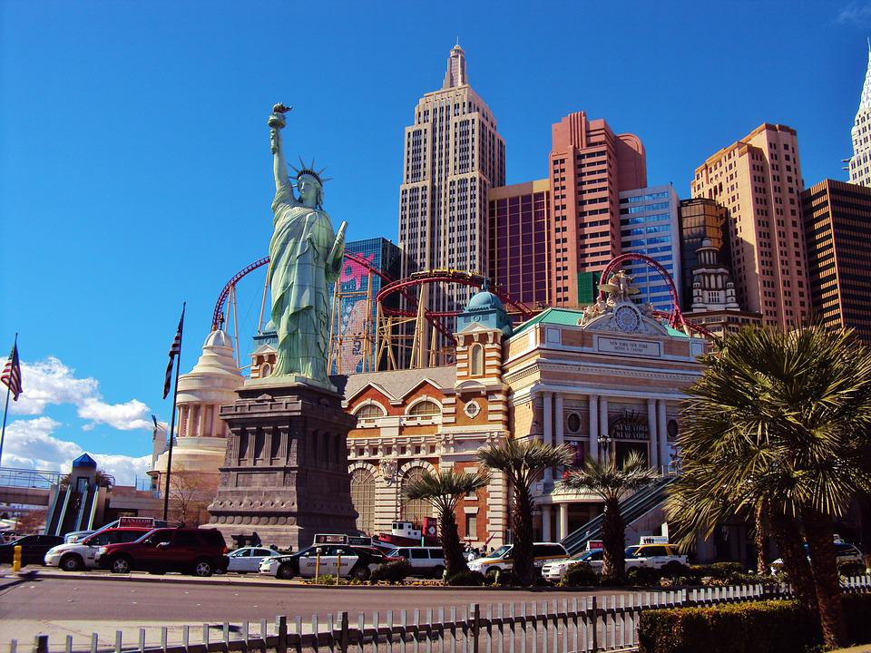 Las Vegas, Liberty Statue, City, Landmark, Tourism