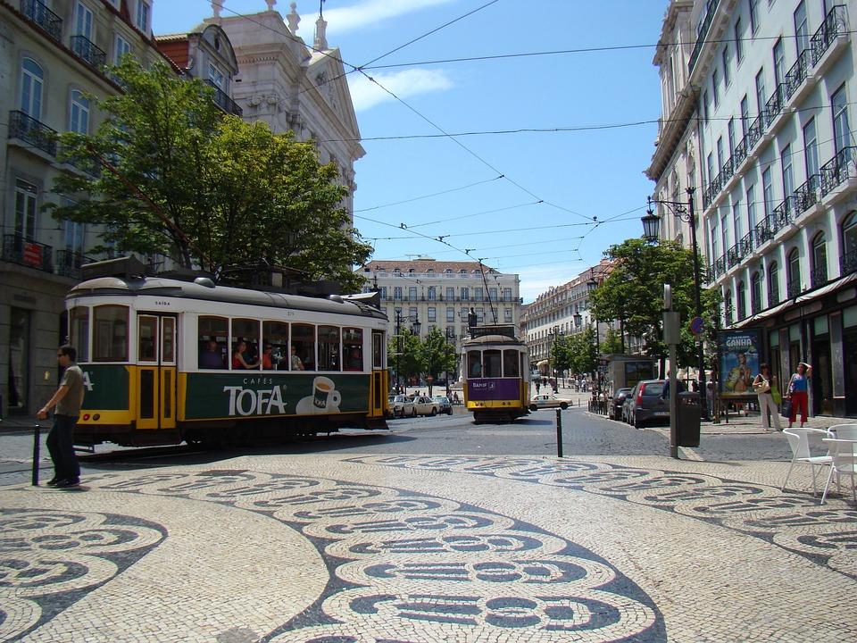 Lisbon, Portugal, Tram, City