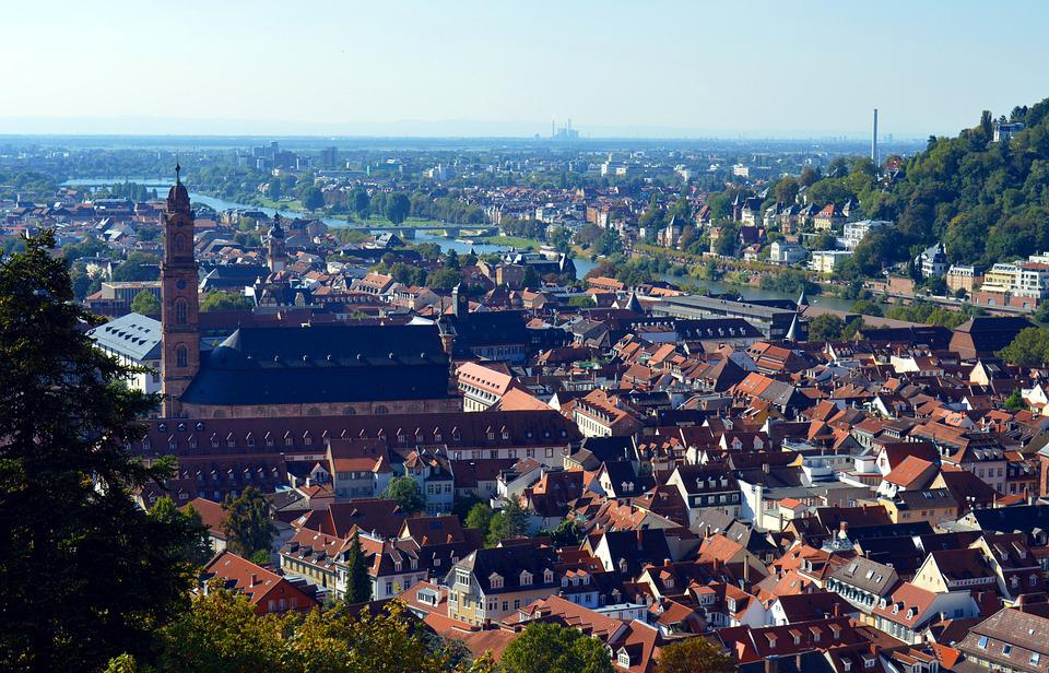 Heidelberg, City, Historically, Historical City, Neckar