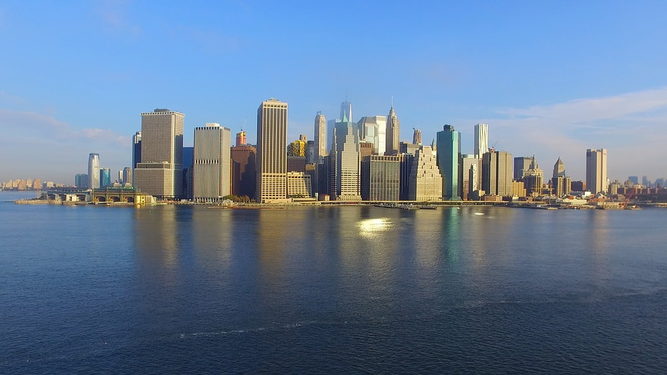 New, York, City, New York City Skyline