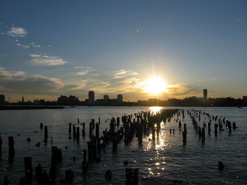 New York, Ny, Nyc, New York City, City, Chelsea Pier