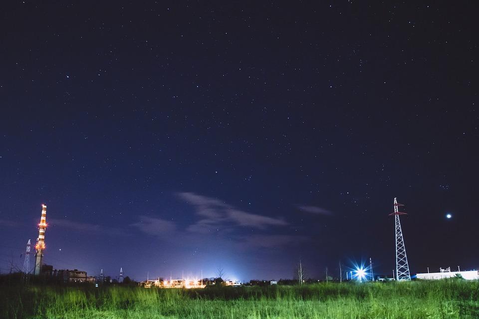 Night, City, City At Night, City Night, Skyline