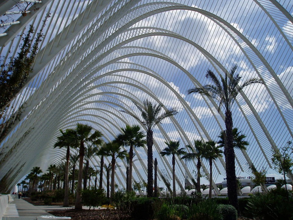 Valencia, Modern Arch, City Of Arts And Sciences