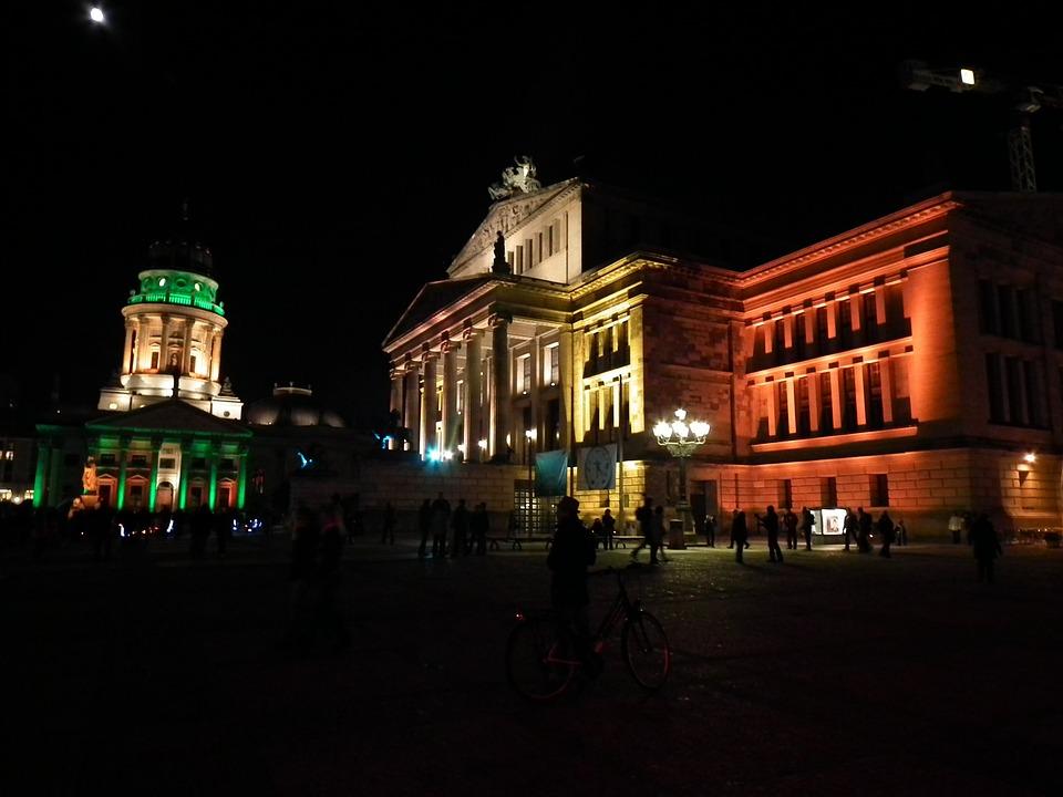 Berlin At Night, Berlin, City Of Lights