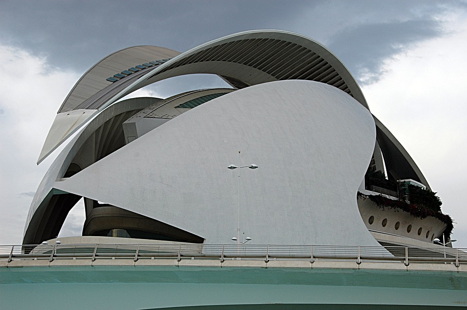 Architecture, Valencia, City Of Sciences, Spain