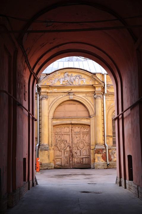 Arch Doors Door Street Old City Russia & Free photo City Old Russia Arch Doors Street Door - Max Pixel