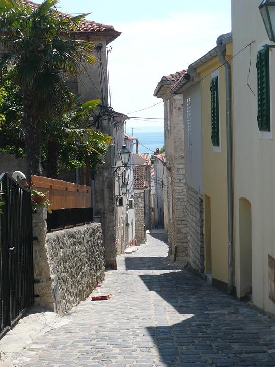 City, Old Town, Krk, Building