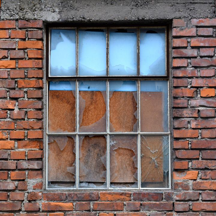 Window, Architecture, Old, City, Glass, Broken, House