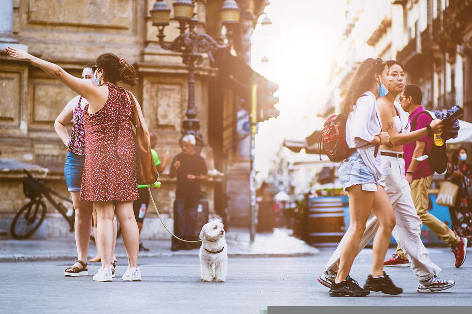 People, Street, City, Walking, Urban, Crowd, Road, Busy