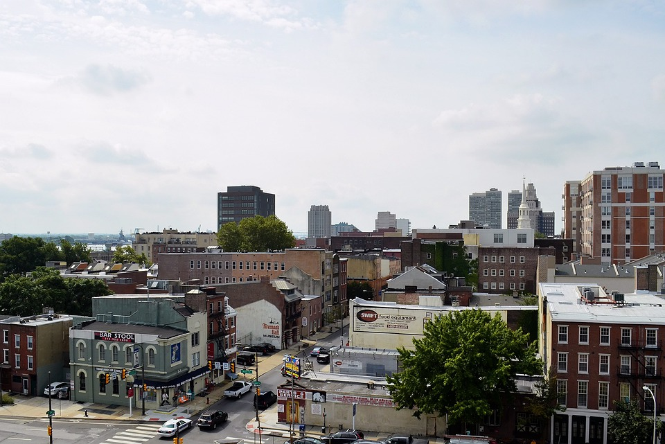 Philadelphia, City, Urban, Streets, Buildings, Cities